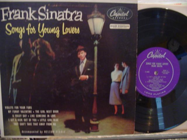 FRANK SINATRA - SONGS FOR YOUNG LOVERS - CAPITOL # 5{ 161