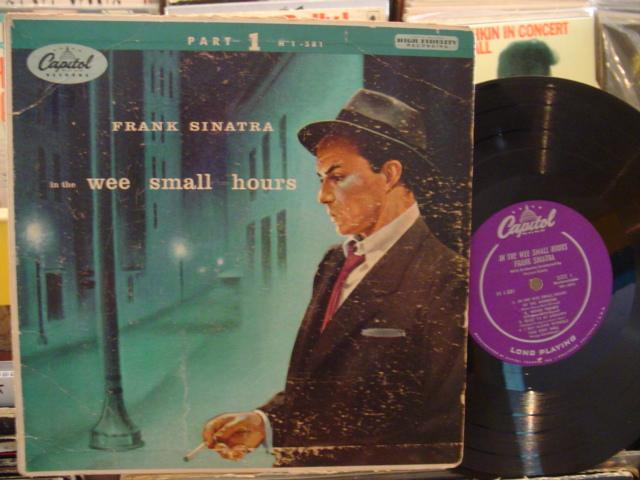 FRANK SINATRA - WEE SMALL HOURS - CAPITOL { 160