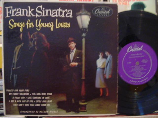 FRANK SINATRA - SONGS FOR YOUNG LOVERS - CAPITOL # 3 { 158