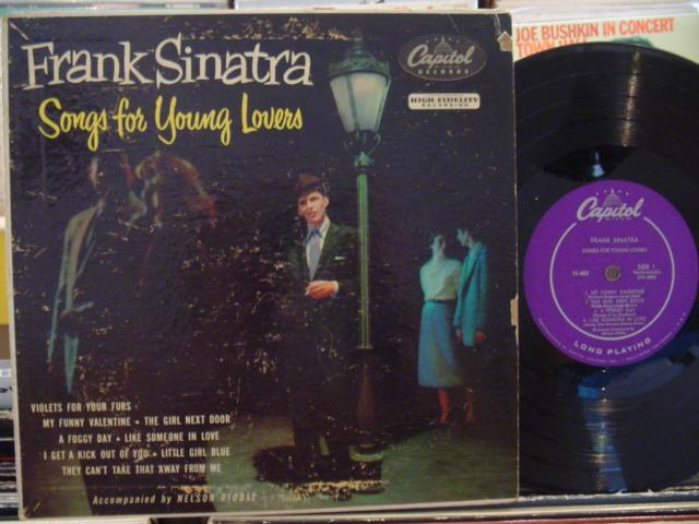 FRANK SINATRA - SONGS FOR YOUNG LOVERS - CAPITOL { 156