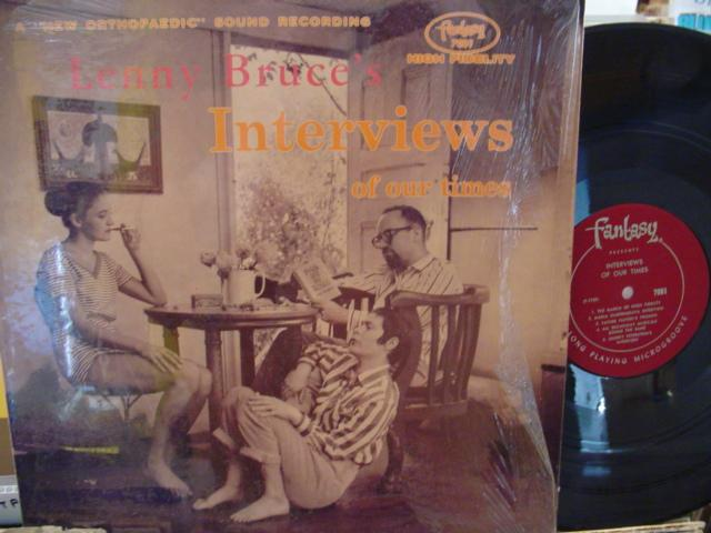 LENNY BRUCE - INTERVIEWS - FANTASY 7001 { MV 112