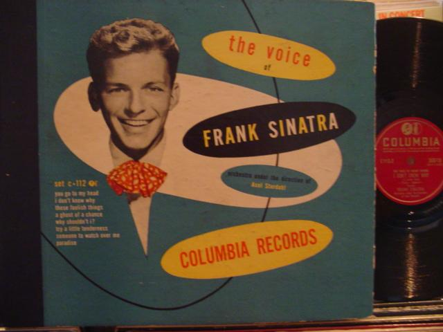 FRANK SINATRA - THE VOICE - COLUMBIA C 112 - 4 DISC