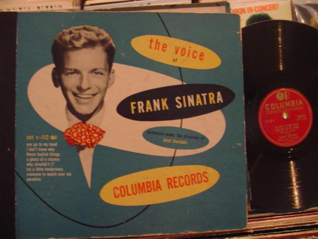 FRANK SINATRA - THE VOICE - COLUMBIA C 112 - 3 DISC