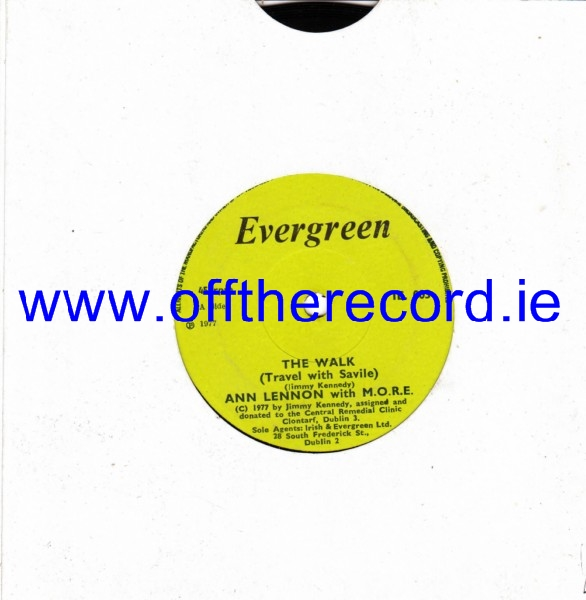 Ann Lennon & M.O.R.E. - The Walk - Evergreen 1977