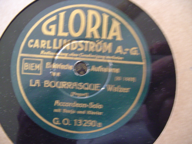 ACCORDIAN SOLO - BOURRASQUE - GLORIA GERMAN LABEL