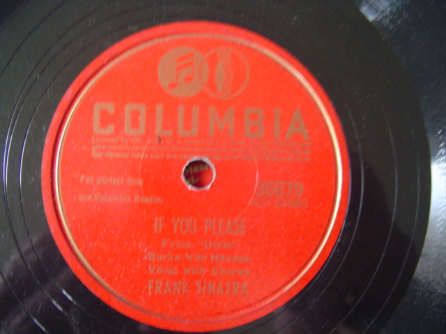 FRANK SINATRA - IF YOU PLEASE - COLUMBIA 36679