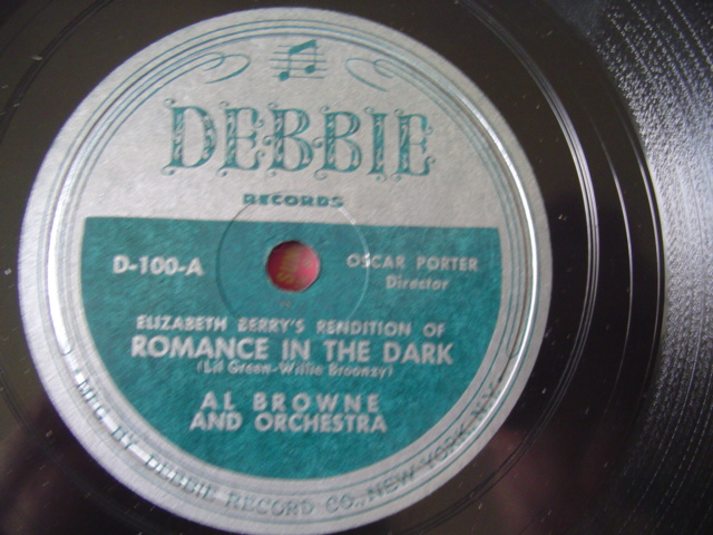 AL BROWNE & ELISABETH BERRY - RARE DEBBIE LABEL