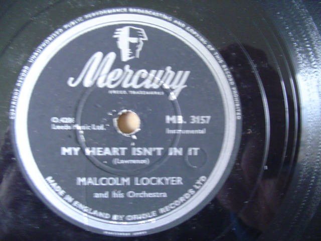 MALCOLM LOCKYER - ON WATERFRONT - MERCURY 3157