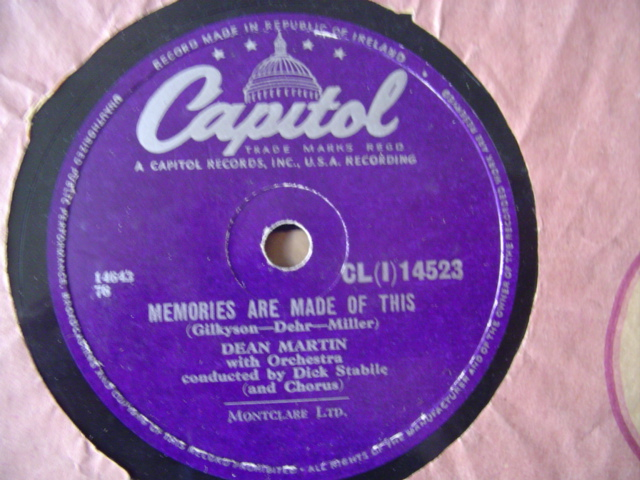 Dean Martin - Memories are made of this - Capitol CLI.14523