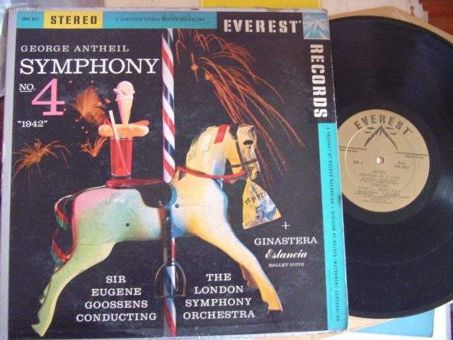 ANTHEIL - SYMPHONY No 4 - GOOSSENS - EVEREST STEREO