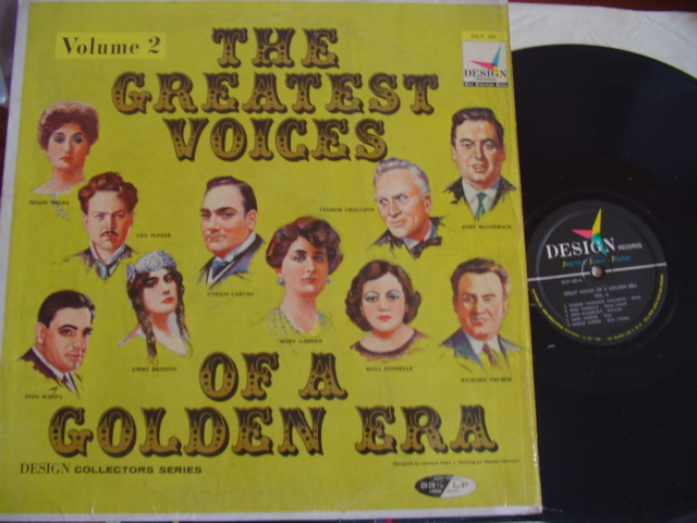 VARIOUS - GREATEST VOICES OF GOLDEN ERA - VOL 2 - DESIGN