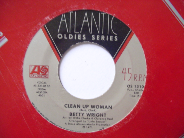 BETTY WRIGHT - CLEAN UP WOMAN - ATLANTIC