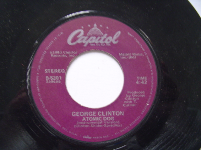 GEORGE CLINTON - ATOMIC DOG - CAPITOL 1983