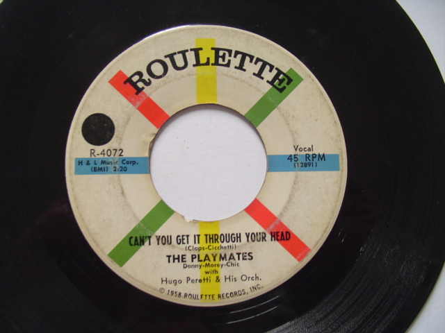 THE PLAYMATES - DONT GO HOME - ROULETTE