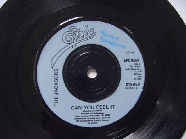 JACKSON 5 - CAN YOU FEEL IT - EPIC