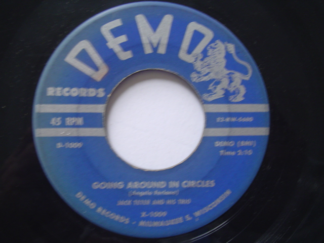 JACK TETER - I'M THE GUY - DEMO 1950s