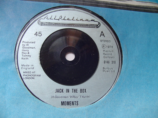 MOMENTS - JACK IN THE BOX - ALL PLATINUM 1976