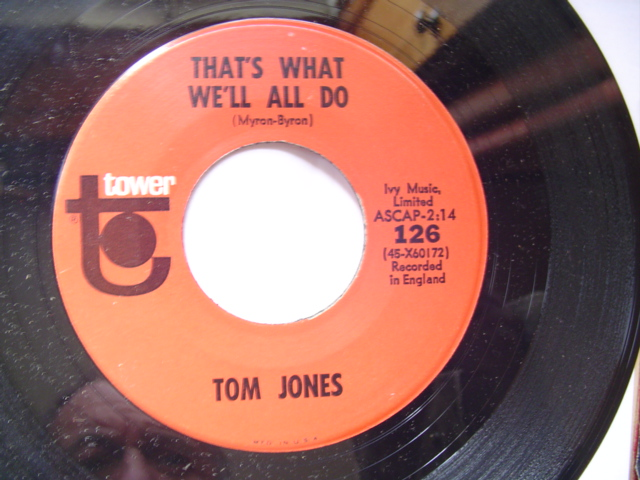 TOM JONES - LITTLE LONLEY ONE - TOWER