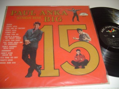 PAUL ANKA - SINGS BIG 15 - ABC { AF 521