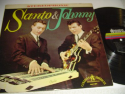 SANTO & JOHNNY - SELF TITLE - CANADIAN AMERICAN { 507 821