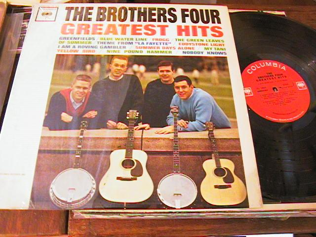 THE BROTHERS FOUR - GREATEST HITS - COLUMBIA { AF 200