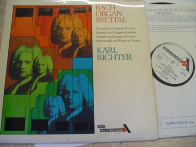 KARL RICHTER - BACH ORGAN - DECCA ACE CLUBS