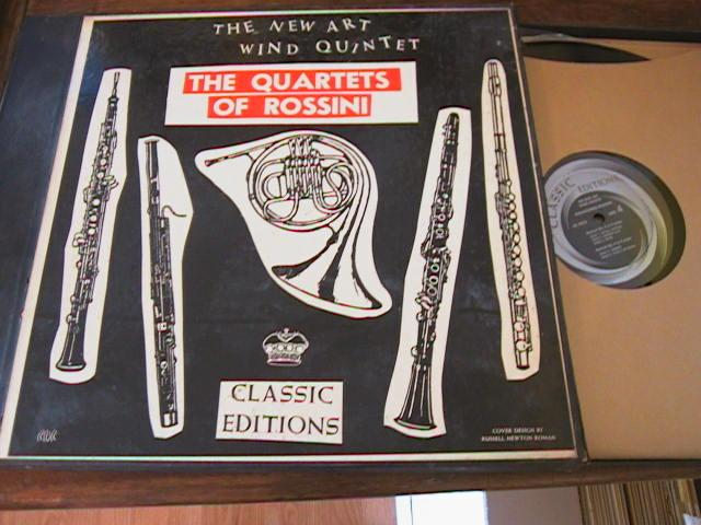 ROSSINI - QUARTETS - NEW ART WIND - CLASSIC EDITION { R 164