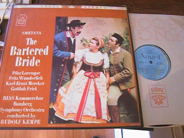 SMETANA - BARTERED BRIDE - KEMPE WUNDERLICH - ANGEL