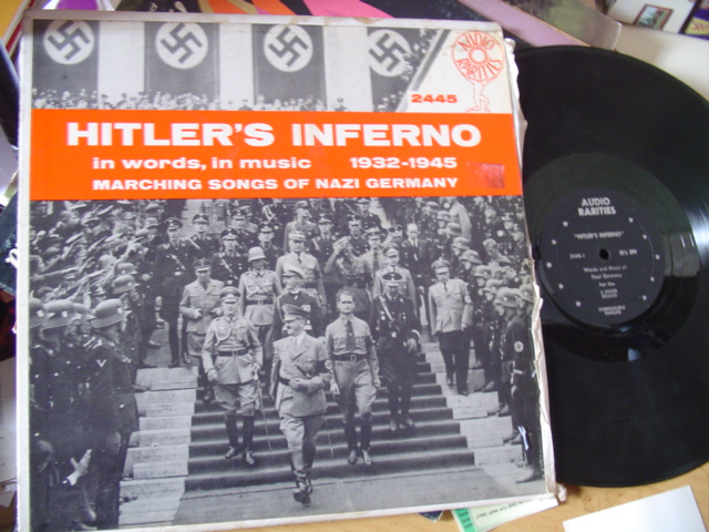 HITLERS INFERNO - 1932 / 1945 - AUDIO RARITIES