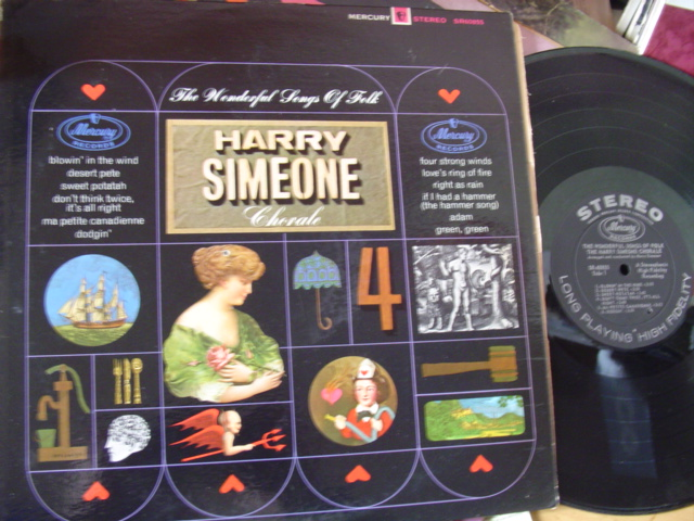 HARRY SIMEONE CHORALE - FOLK SONGS - MERCURY