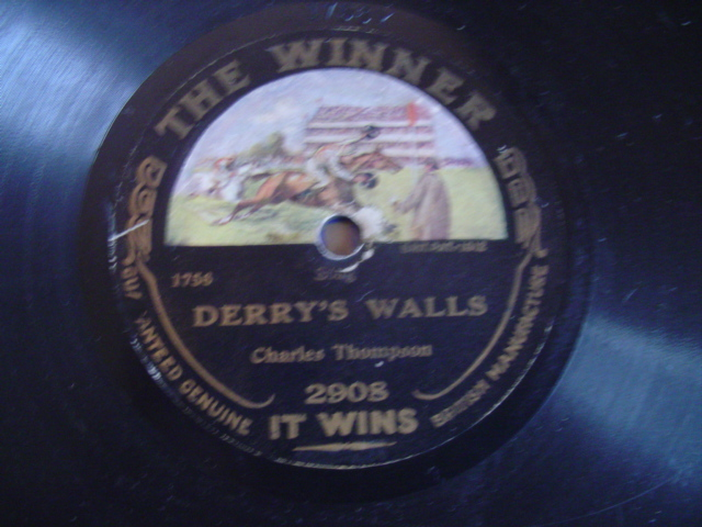 CHARLES THOMPSON - DERRY'S WALLS - THE WINNER