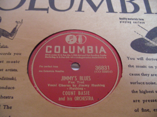 COUNT BASIE - JIMMYS BLUES - COLUMBIA