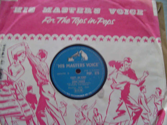 EDDIE FISHER - CINDY OH CINDY - HMV