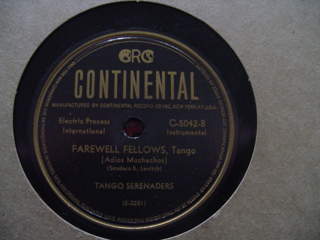 TANGO SERENADERS - OBSESSION - CONTINENTAL