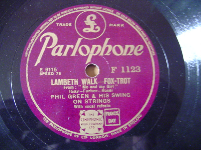 PHIL GREEN - LAMBETH WALK - PARLOPHONE