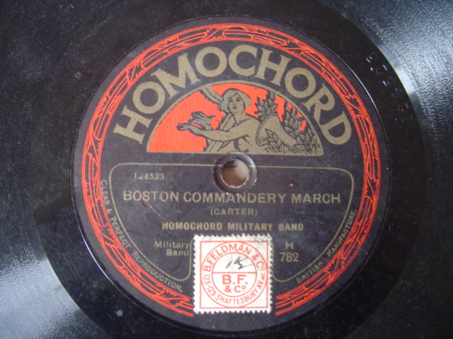 HOMOCHARD MILITARY BAND - BOSTON COMMANDERY MARCH