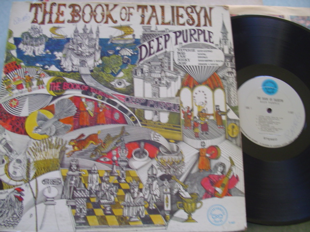 DEEP PURPLE - BOOK TALIESYN - TETRAGAMMATON