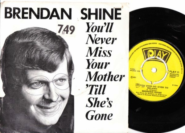 PLAY 013 - Brendan Shine - 1971 Picture Sleeve