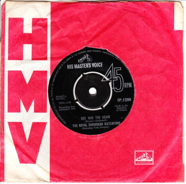 HMV IP.1299 - Tom Dunphy & Royal Showband - 1965