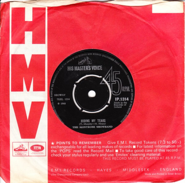 HMV IP.1314 - The Montrose Showband - 1968