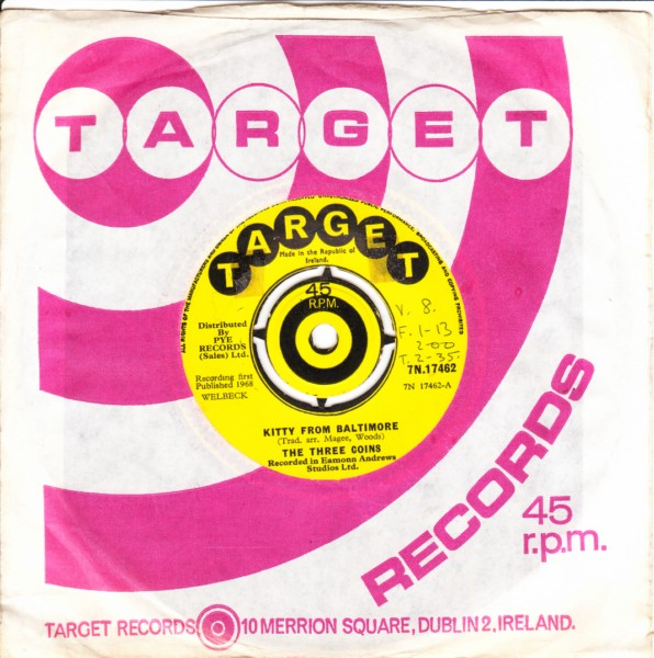 Target 7N17462 - The Three Coins - 1968