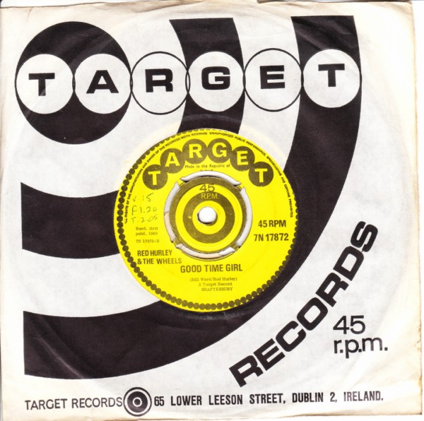 Target 7N17872 - Red Hurley & The Wheels - 1969