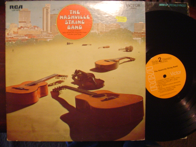 THE NASHVILLE STRING BAND - SELF TITLE - RCA 1969
