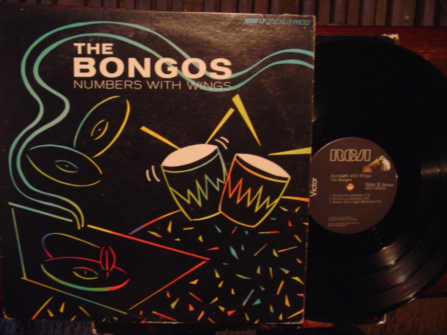 THE BONGOS - NUMBERS WITH WINGS - RCA