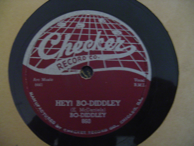 BO - DIDDLEY - HEY BO DIDDLEY - CHECKER 860