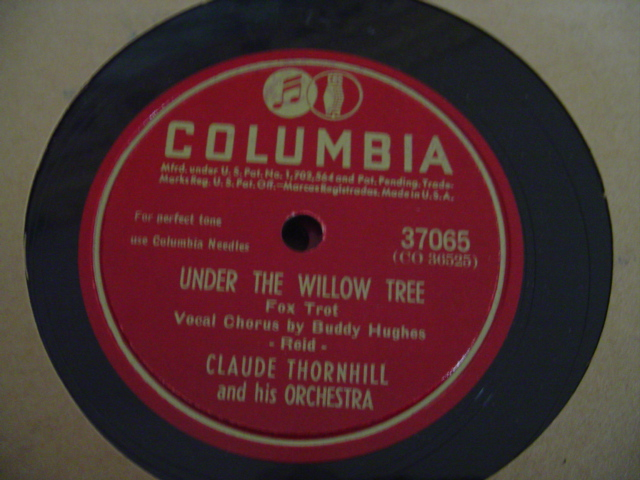 CLAUDE THORNHILL - TWILIGHT TIME - COLUMBIA 37065