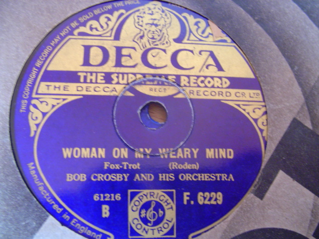BOB CROSBY - PETER PIPER - DECCA