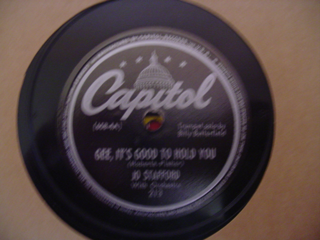 JO STAFFORD - THATS FOR ME - CAPITOL