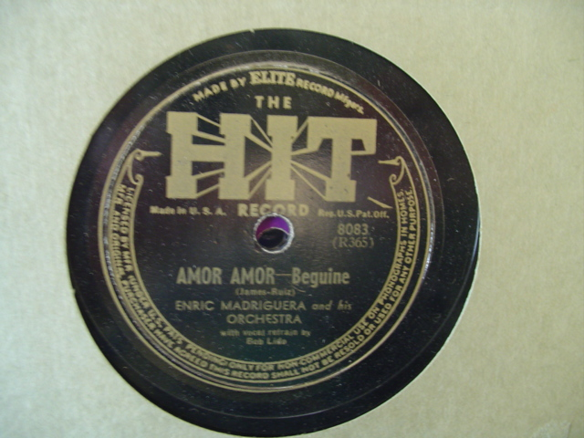 ENRIC MADRIGUERA - AMOR AMOR - HIT RECORDS
