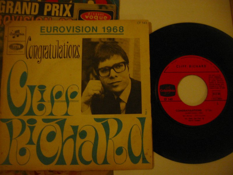 CLIFF RICHARD - CONGRATULATIONS - COLUMBIA FRANCE